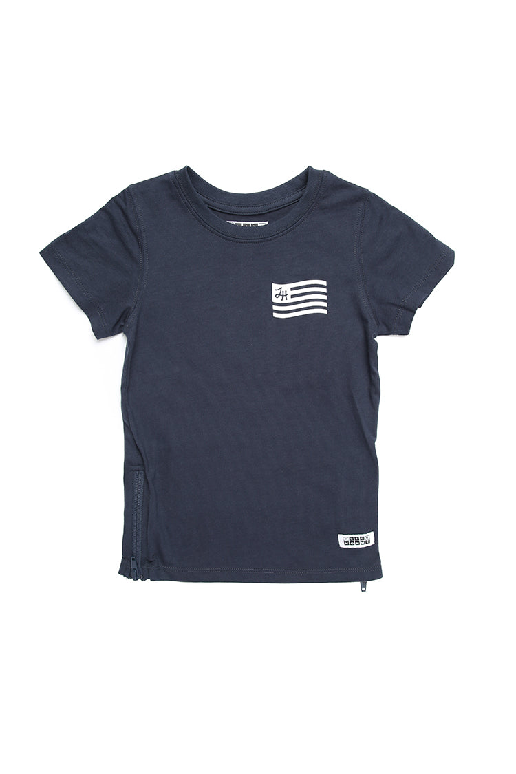Lil Homme Lil U.R.L.H Capone S/S Tee Navy