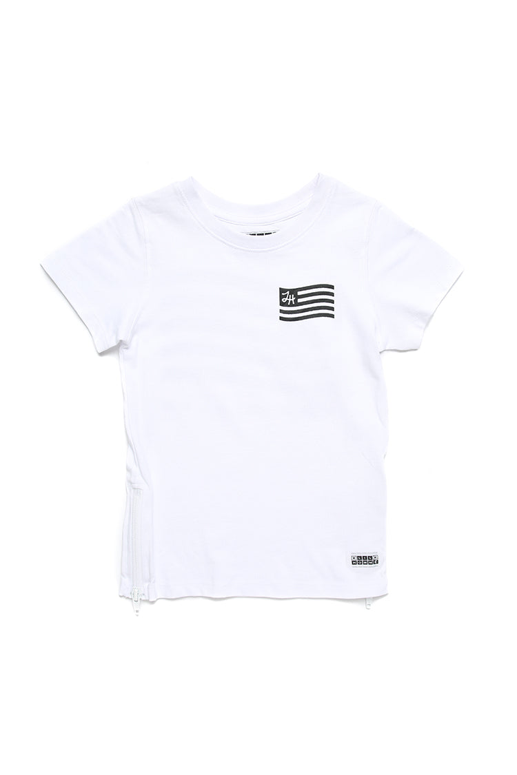Lil Homme Lil U.R.L.H Capone S/S Tee White