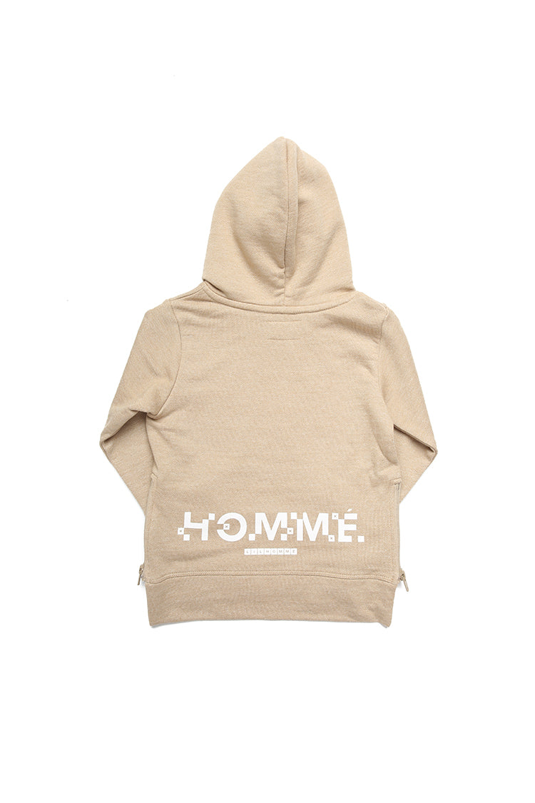 Lil Homme Lil Cube Raffine 2 Hoodie Stone