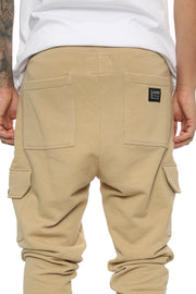 Carré Guerrier Trackpant Stone