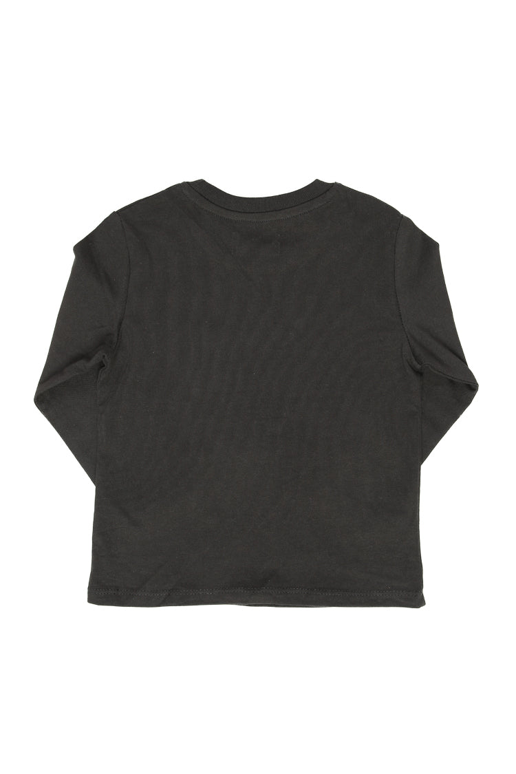 Lil Homme No.5 Long Sleeve Tee Black