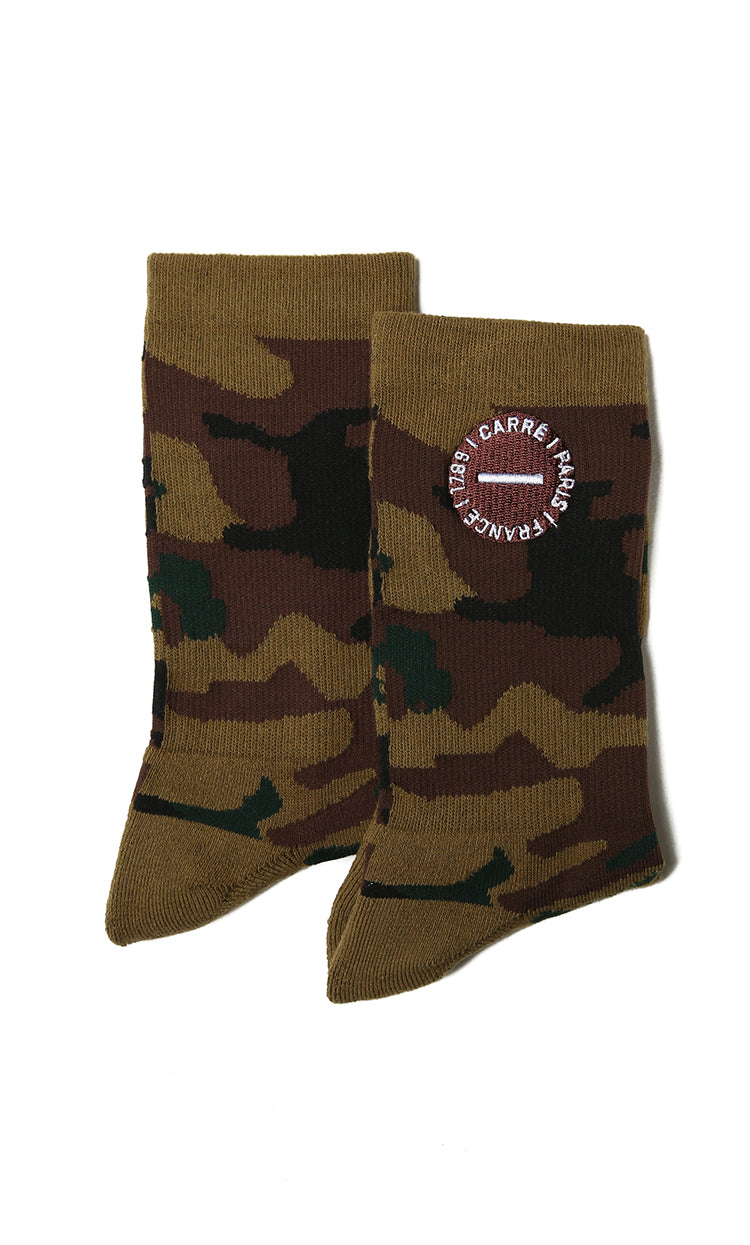 Carré Turn Crew Sock Camo