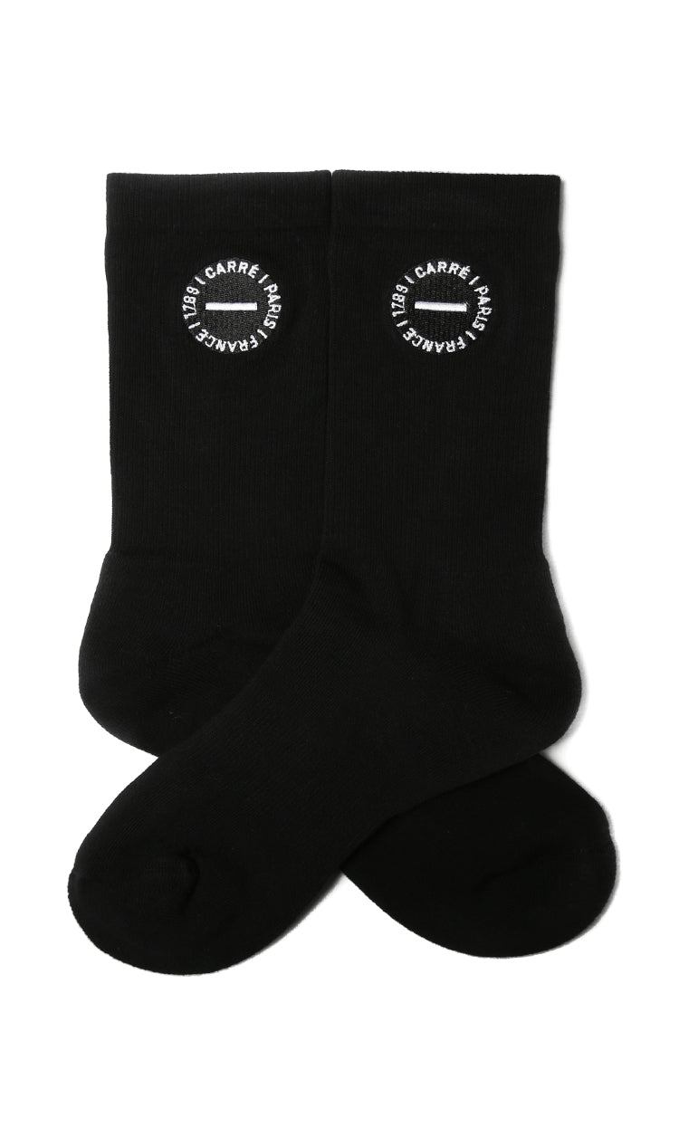 Carré Turn Sock Black