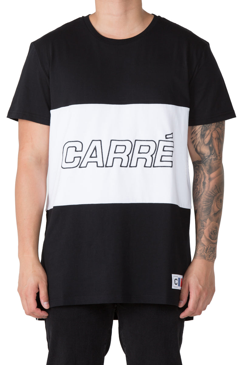 Carré Lamrisse Short Sleeve Tee Black/White/Black