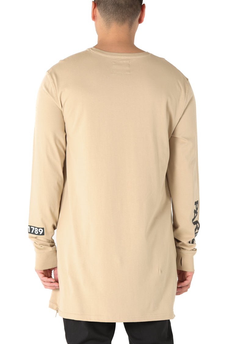 Carré I Capone 3 L/S Tee Stone