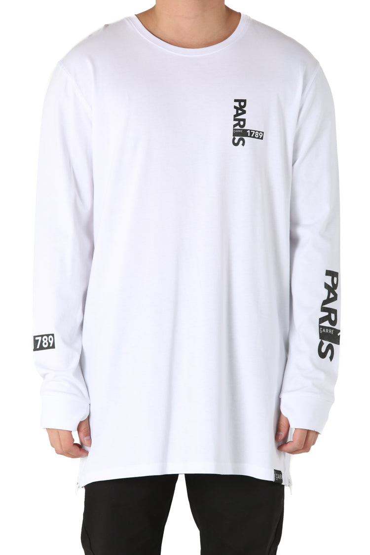 Carré I Capone 3 L/S Tee White