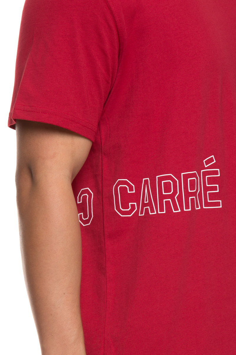Carré Still Watching Capone SS Tee Crimson