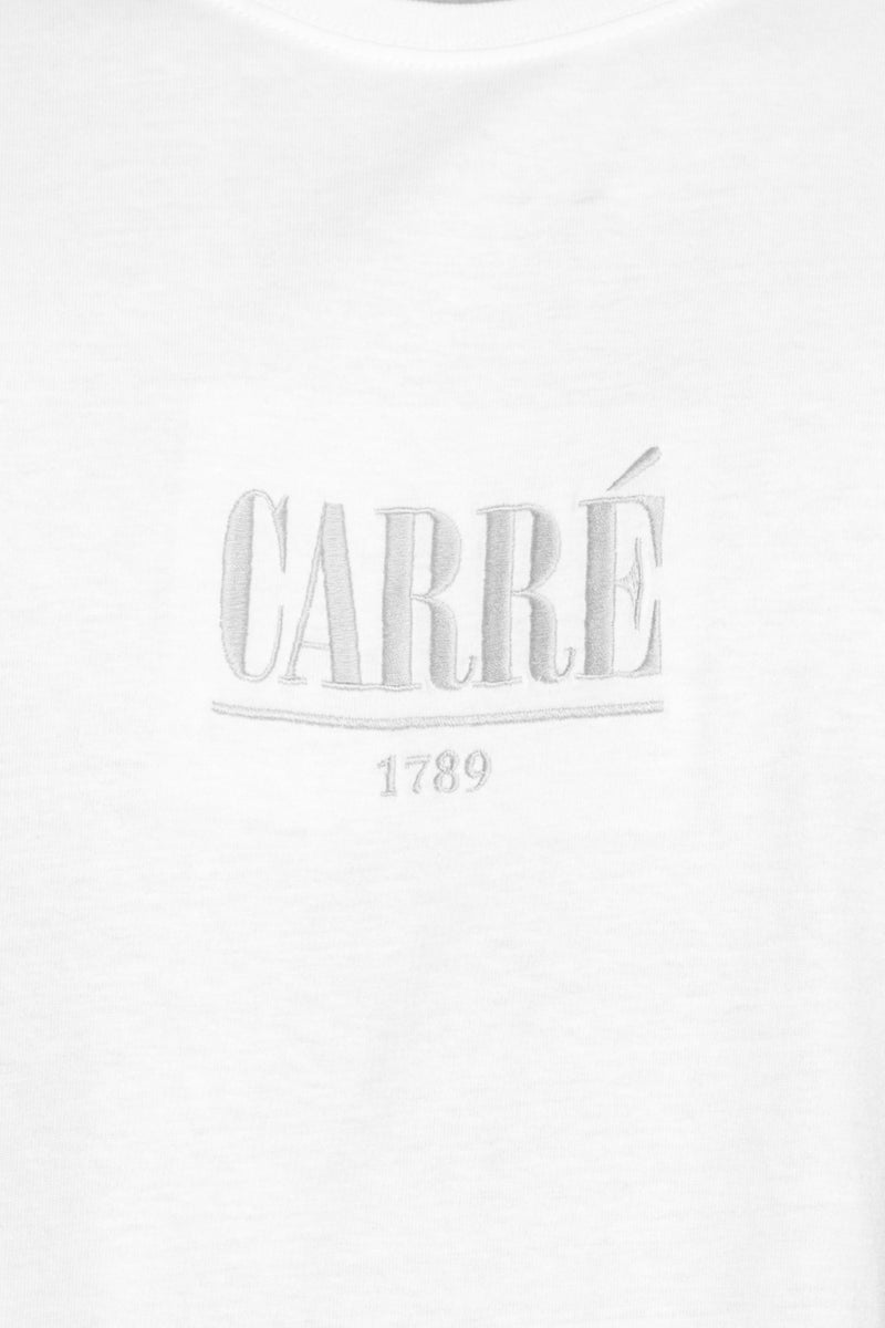 Carré Voile Capone SS Tee White