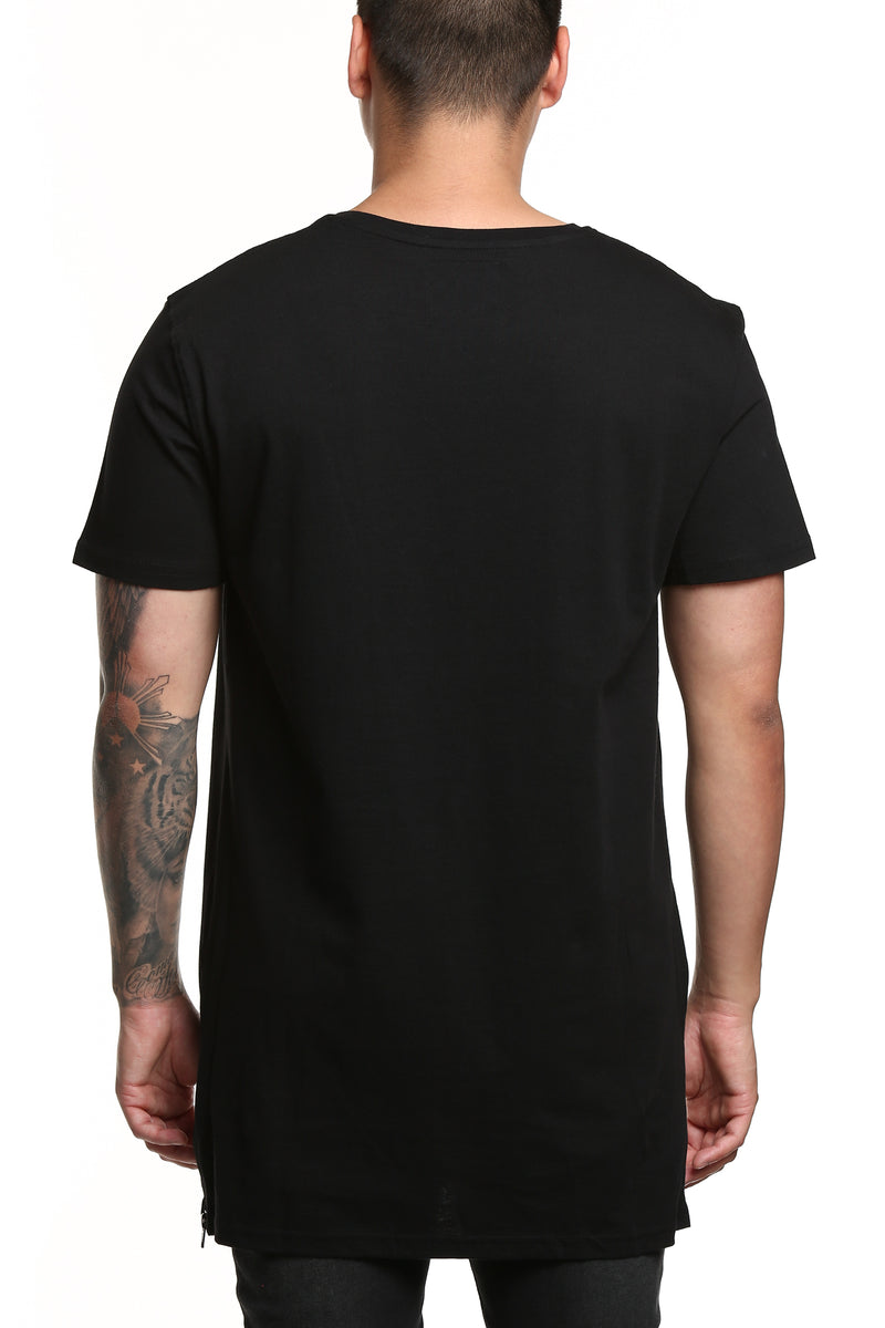 Carré Felin Capone SS Tee Black