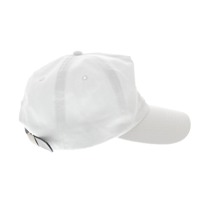 Carré Roses Strapback White