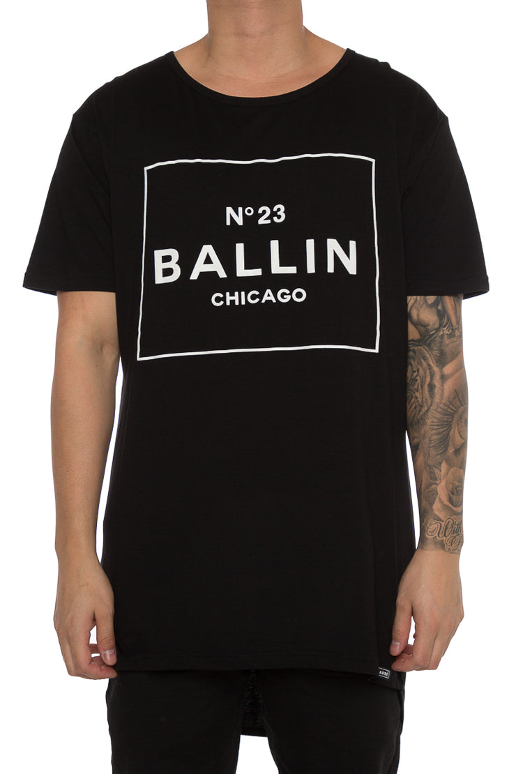 Carré OG Ballin Droptail Tee Black