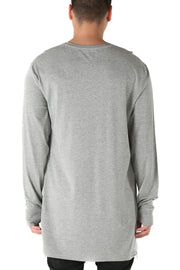 Carré No Revolutions Capone Long Sleeve Tee Grey