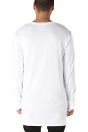 Carré No Revolutions Capone Long Sleeve Tee White