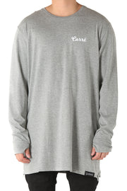 Carré Will Live Capone Long Sleeve Tee Grey