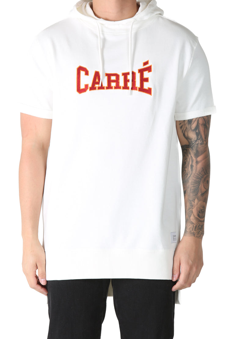 Carré Pressure Vaurien Embroidered Hood Off White