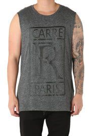 Carré Rolls Scission Muscle Tee Charcoal