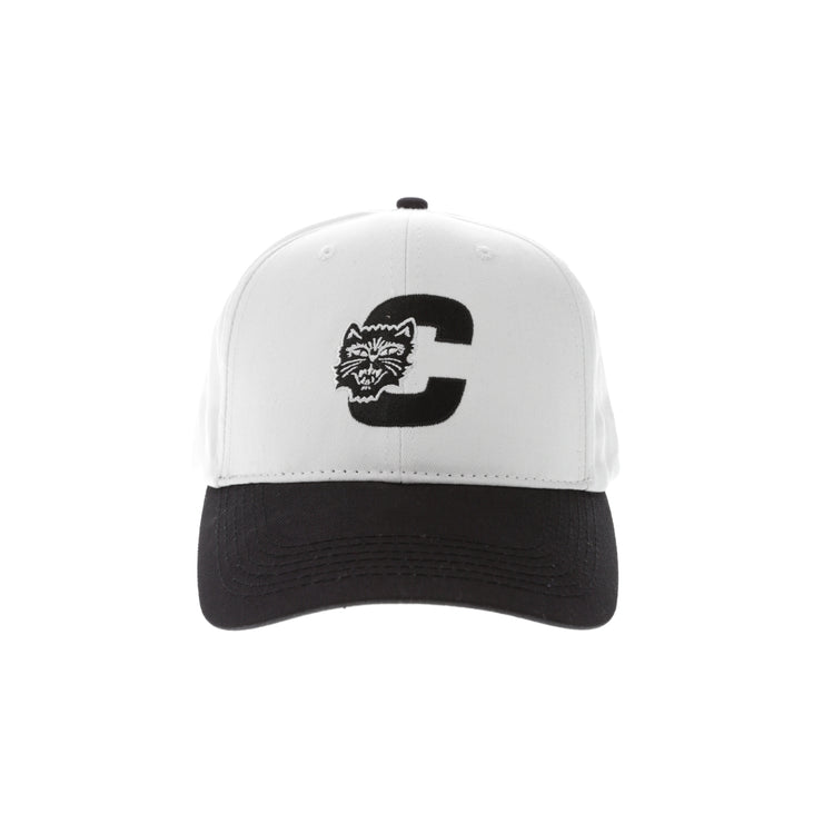 Carré Felin Snapback White/Black