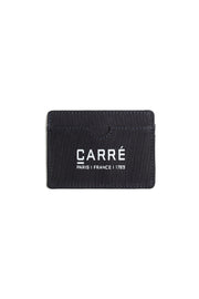 Carré Argent Canvas Card Holder Navy