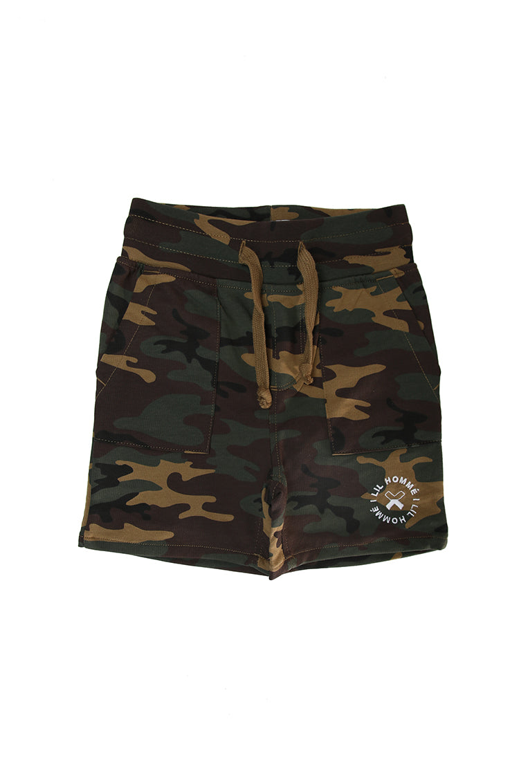 Lil Homme Chiller Short Camo