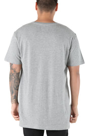 Carré Bande Incline Divise Tee Grey