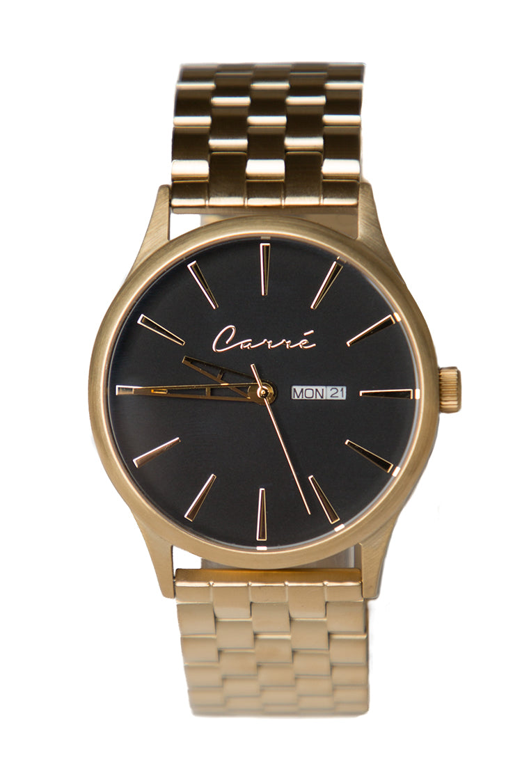 Carré Henry Watch Gold/Black