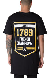 Carré Champions Capone Tee Black
