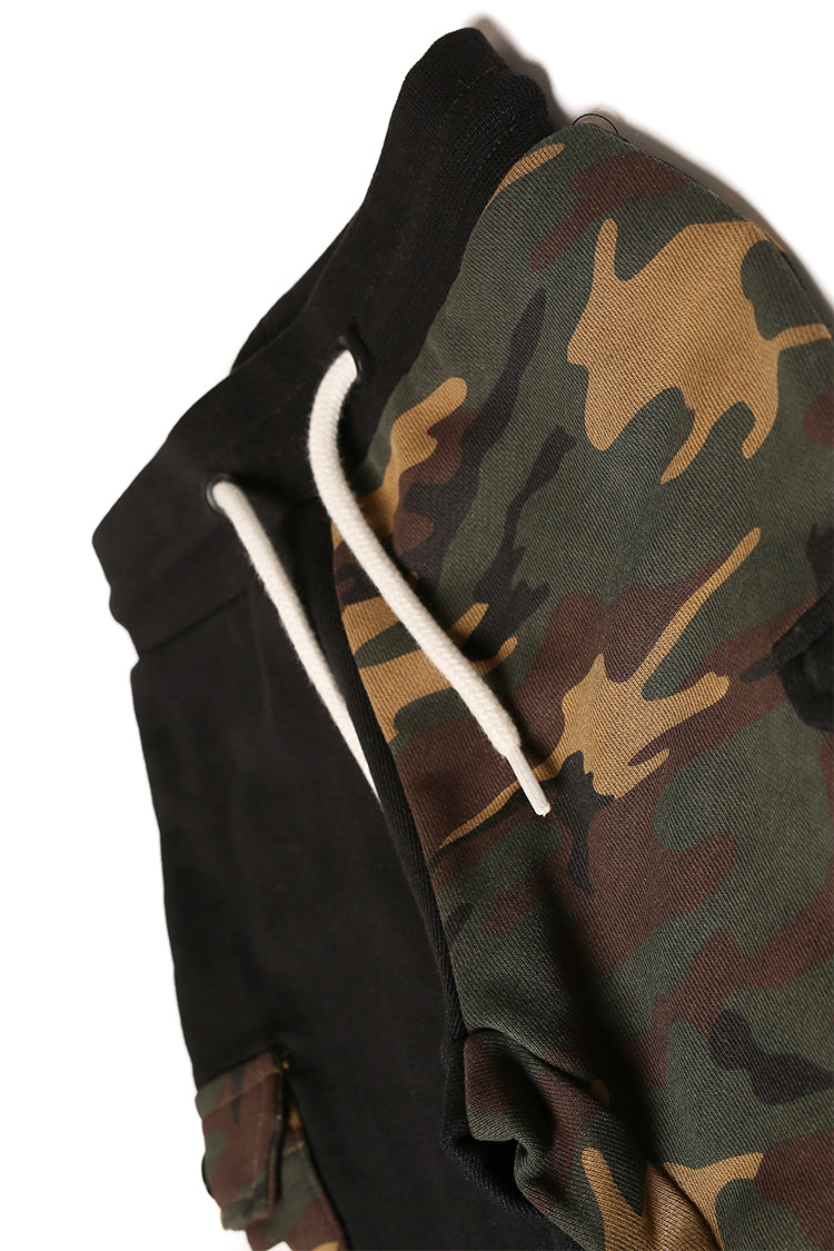Lil Homme Division Guerrier Trackpant Black/Camo