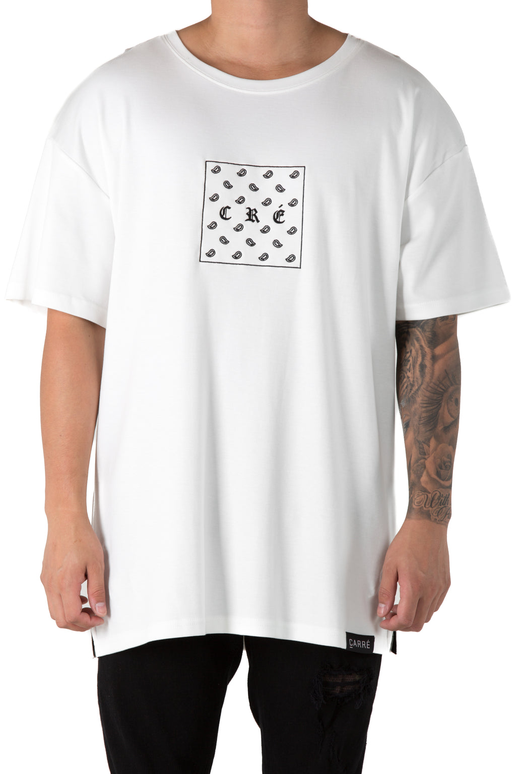 Carré Bandit Terreux SS Tee Off White