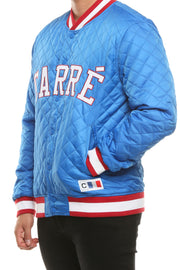 Carré Capitaine Quilted Bomber Royal