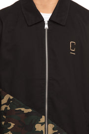 Carré Diagonal Jacket Black/Camo