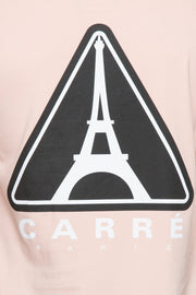 Carré Iron Warning Capone 3 Tee Peach