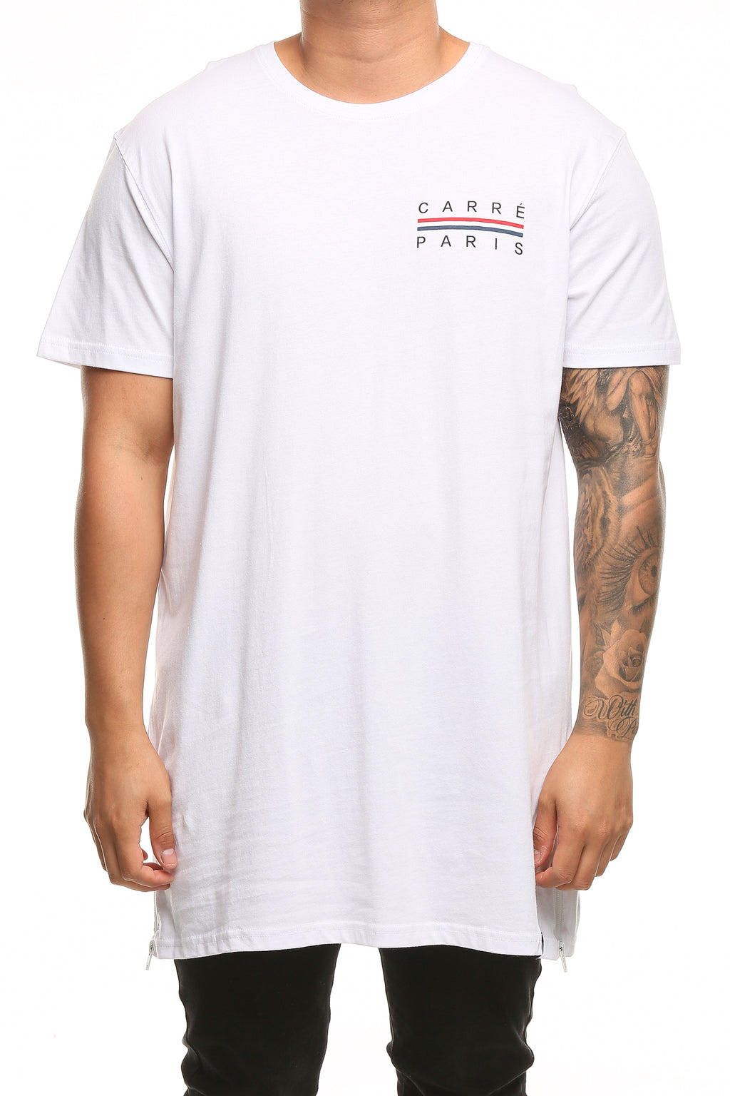 Carré Bannerol Capone SS 3 Tee White