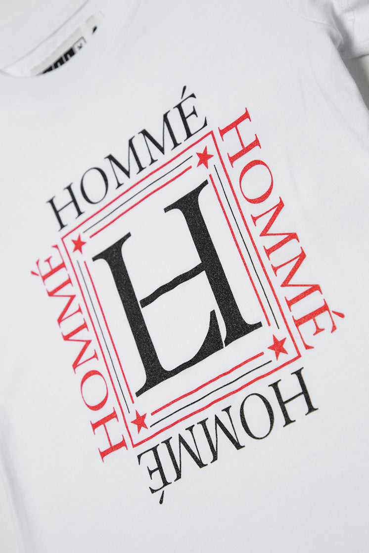 Lil Homme Luxueux Droptail 2 Tee White