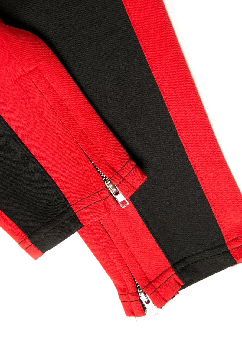 Lil Homme Frontier Trackpant Black/Red