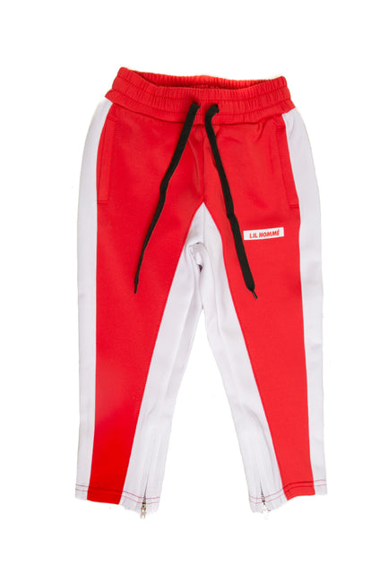Lil Homme Frontier Trackpant Red/White