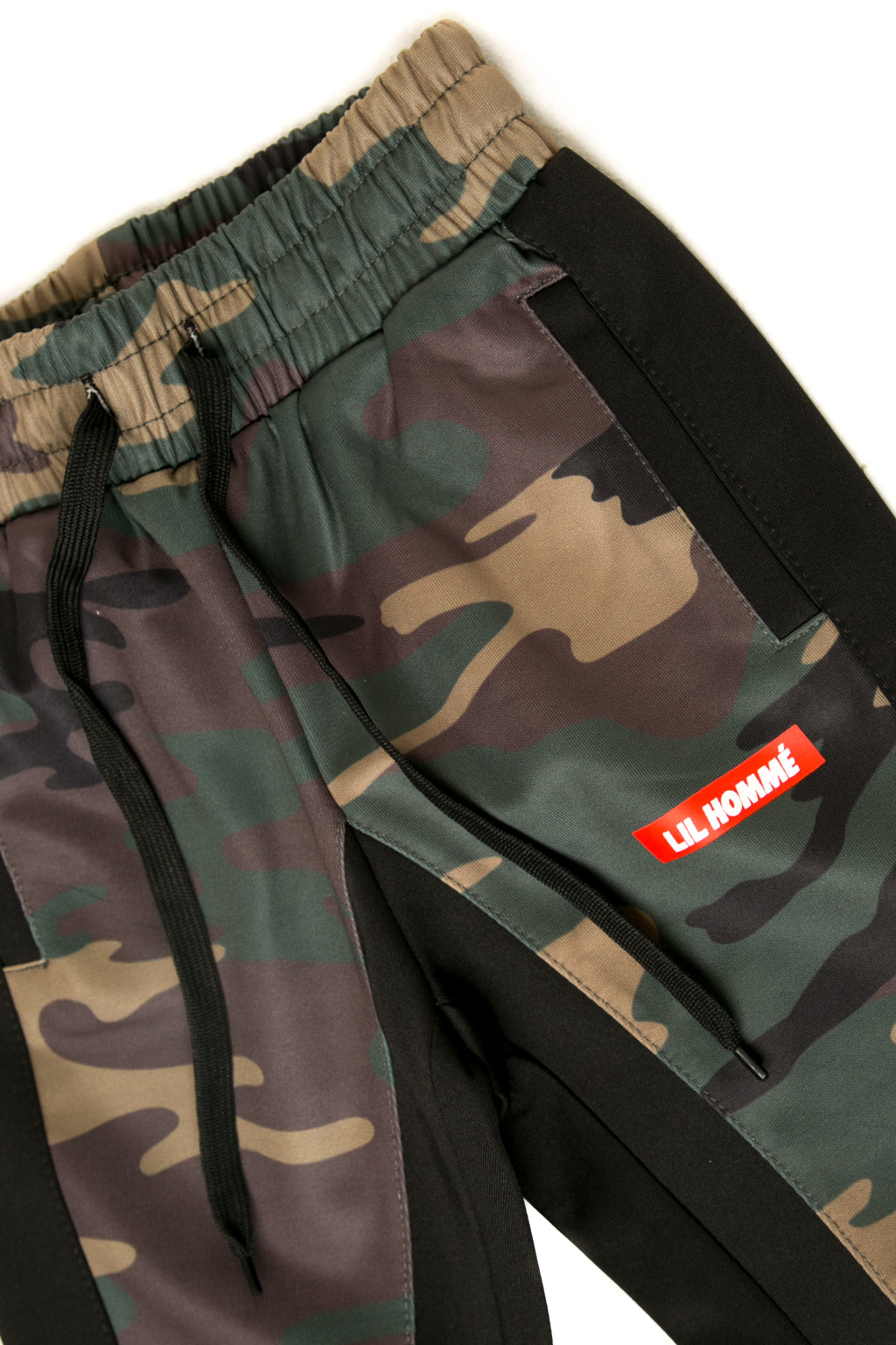 Lil Homme Frontier Trackpant Camo/Black