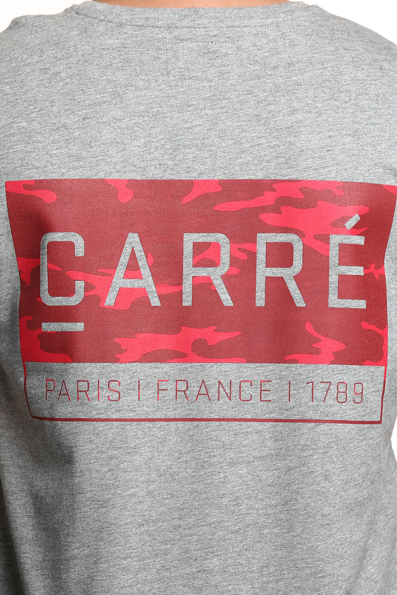 Carré Camo Core Capone 3 SS Tee Grey