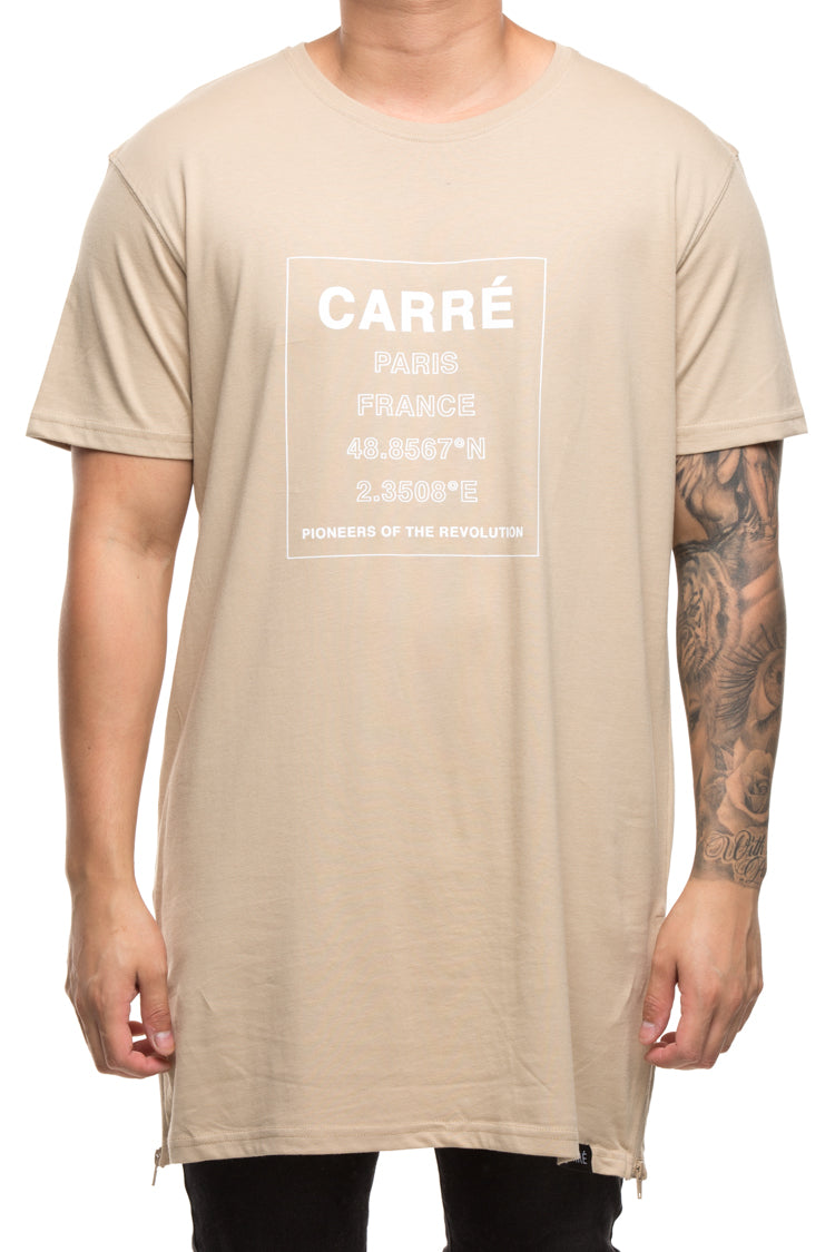 Carré Pioneering Capone 3 SS Tee Stone