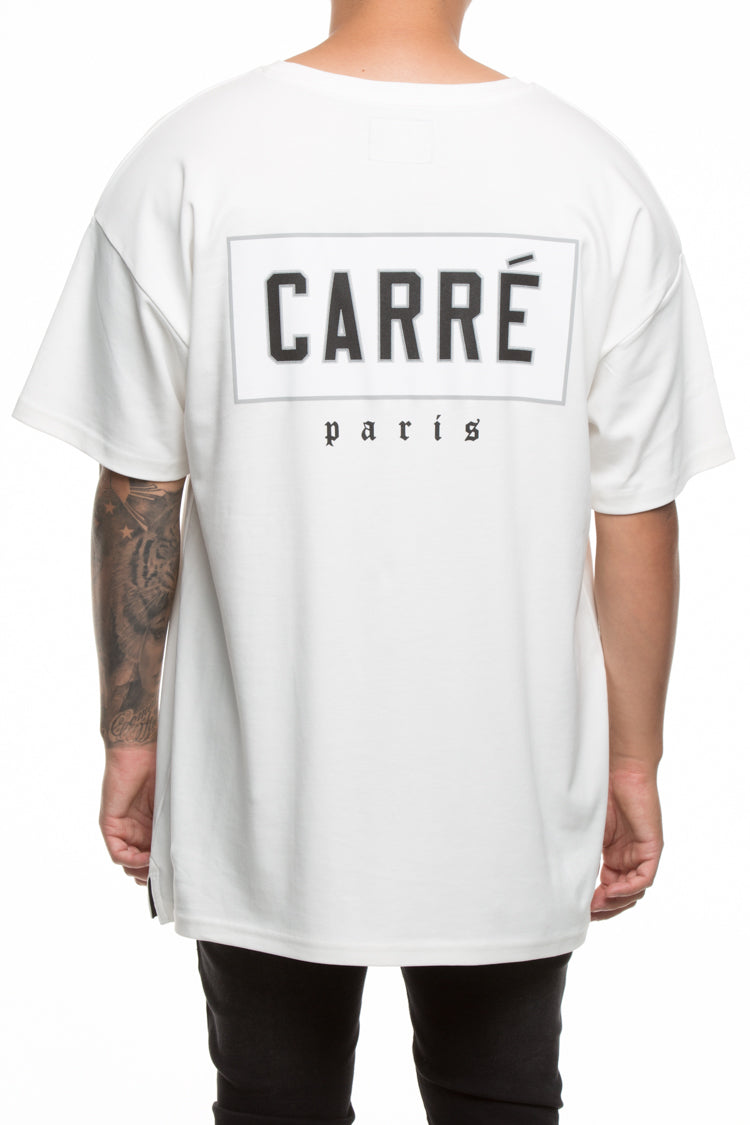 Carré Patched Terreux Tee Off White