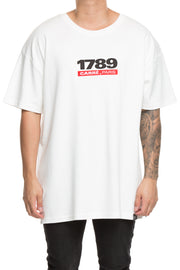 Carré 1789 Terreux Embroidered Tee Off White