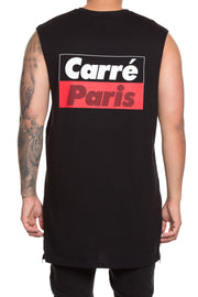 Carré Blinds Capone Muscle Tee Black