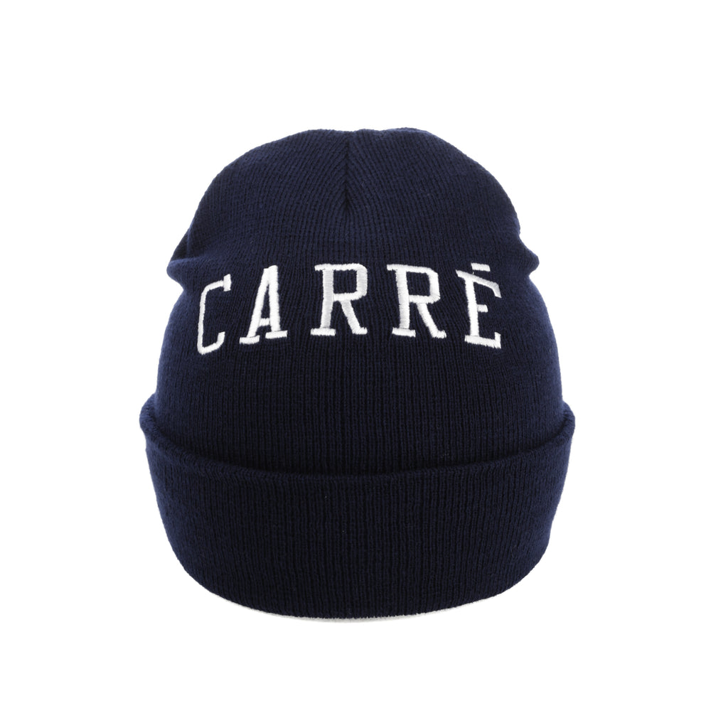 Carré Athletics Beanie Navy