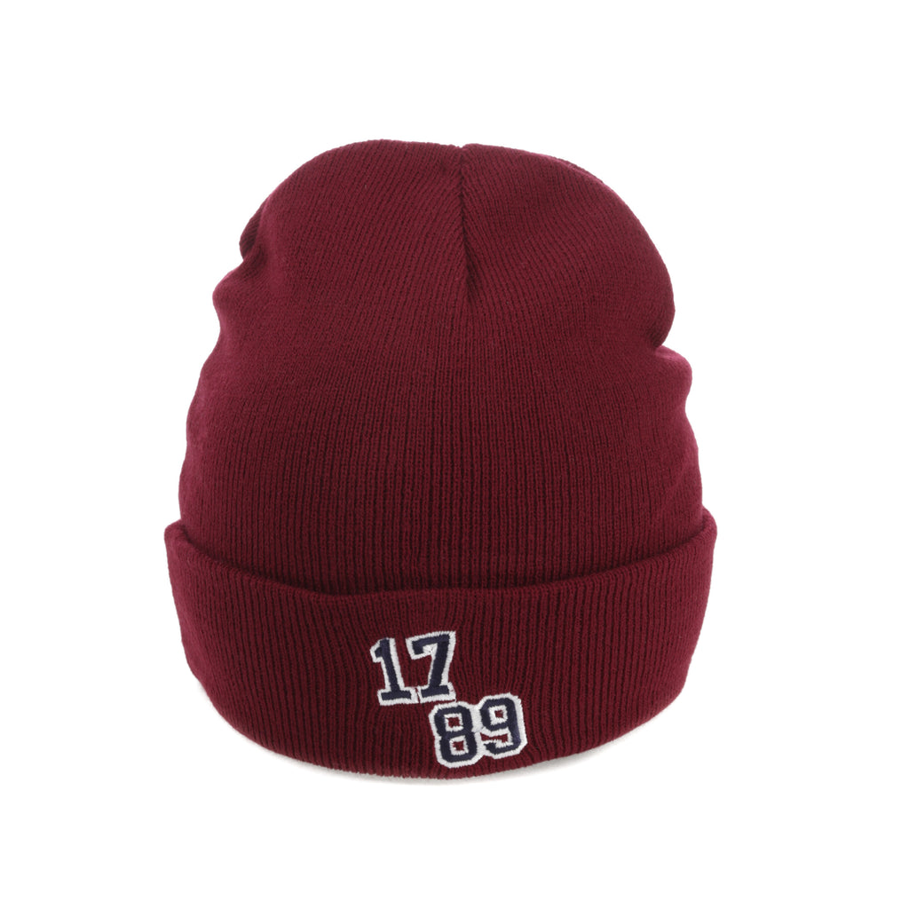 Carré Faculte Beanie Crimson/White
