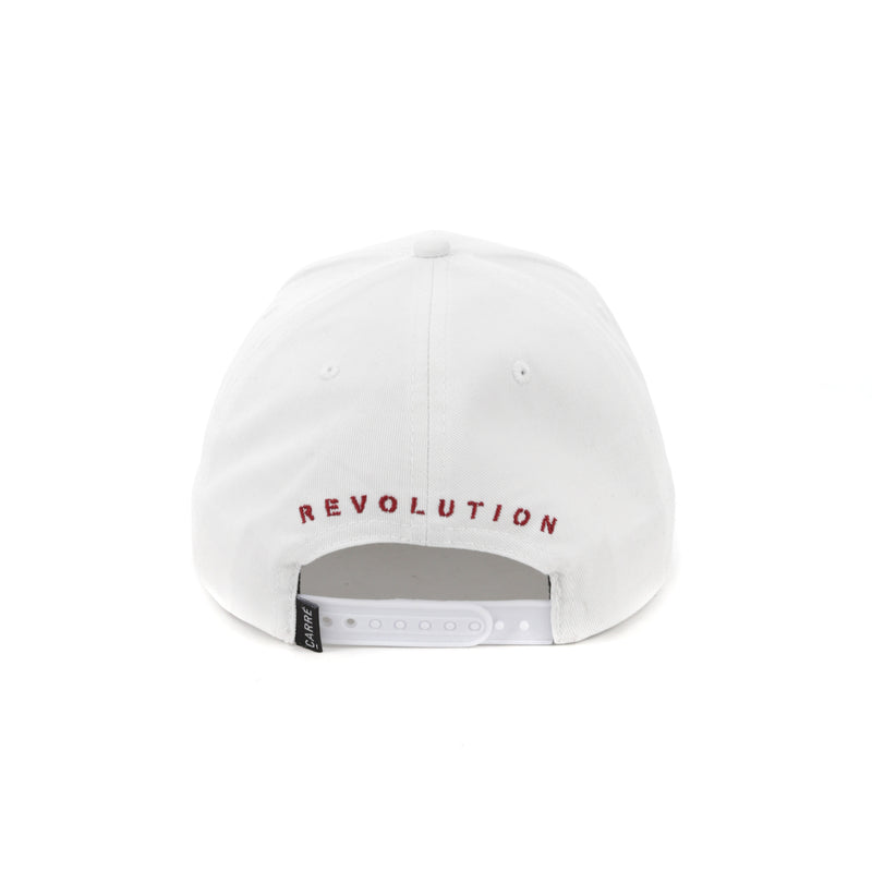Carré Revolution Snapback White