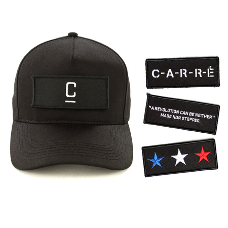 Carré Tactique Strapback Black