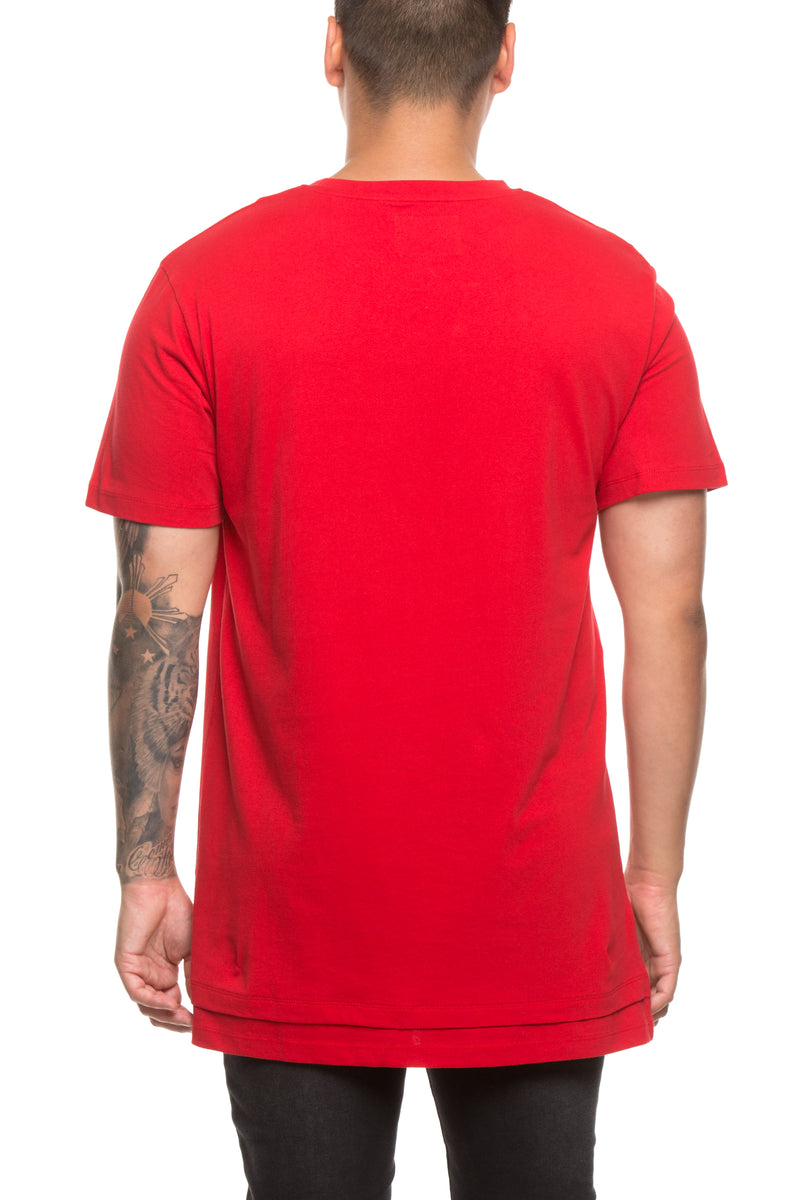 Carré Movement Deux SS Tee Red
