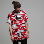 Carré Camo Rouge SS Tee Red Camo