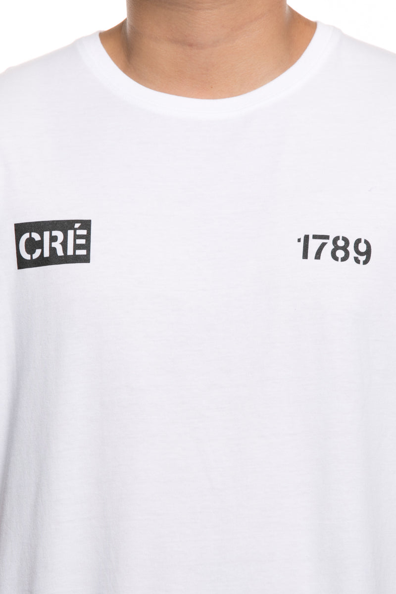 Carré Division Team Capone Tee White