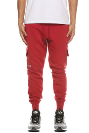 Carré Bataille Trackpant Crimson