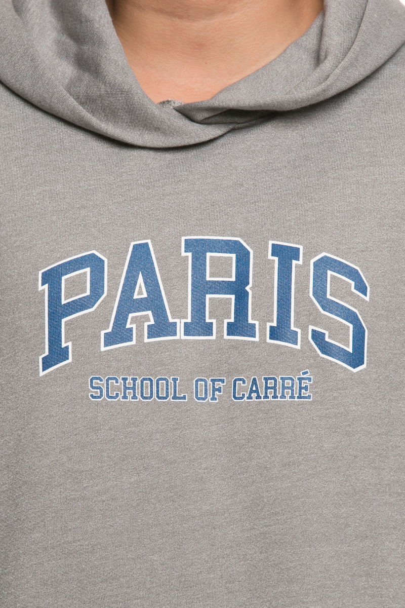Carré Campus Raffine Hood Grey